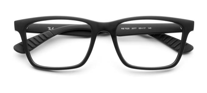 product image of Ray-Ban RX7025-55 Noir mat