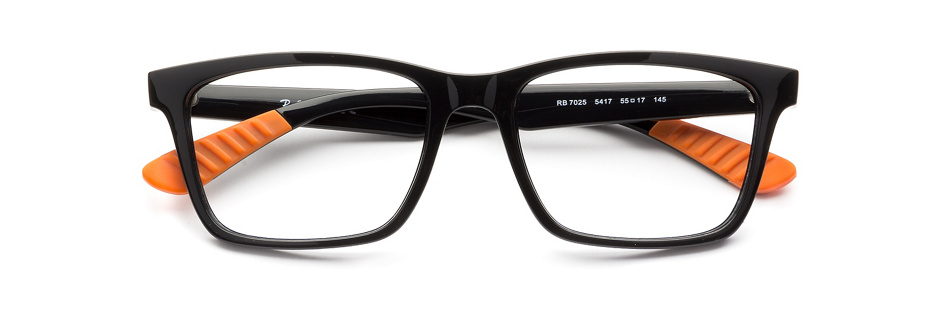 product image of Ray-Ban RX7025 Black Orange