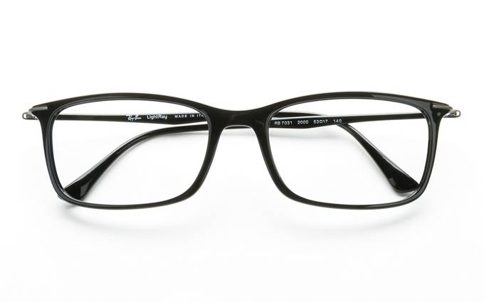 ray ban prescription glass frames  product image of ray ban rx7031 black