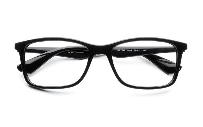 ray ban eyeglasses sale  product image of ray ban rx7047 56 black