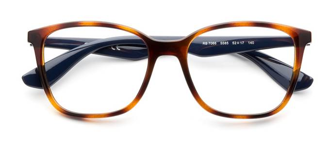 49adb715e9 product image of Ray-Ban RX7066-52 Havana Blue