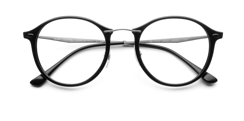 product image of Ray-Ban RX7073-49 Black Silver