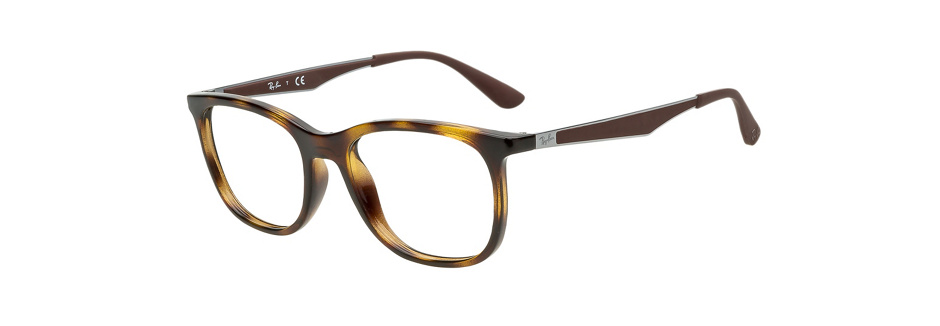 product image of Ray-Ban RX7078-51 Dark Havana Tortoise