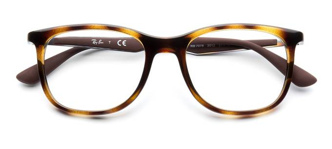 32533e0167 product image of Ray-Ban RX7078-51 Dark Havana Tortoise