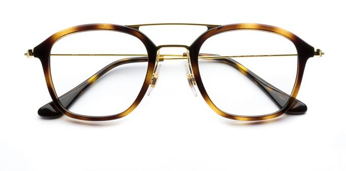 product image of Ray-Ban RX7098-48 Havana Gold