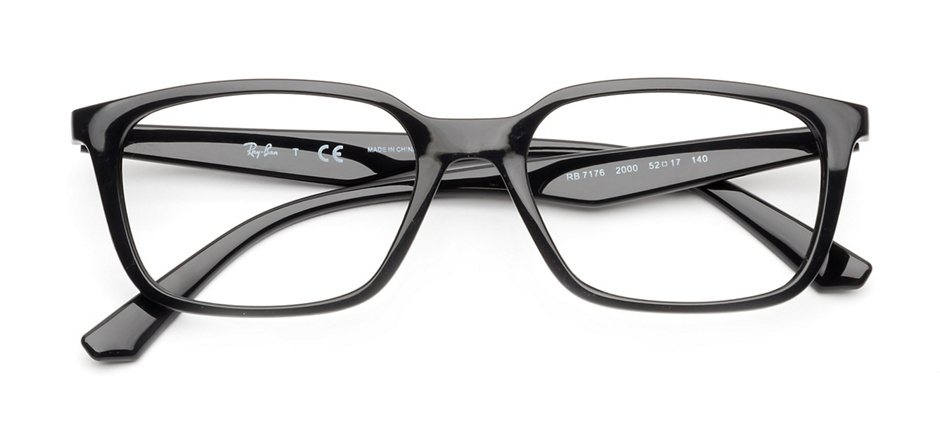 product image of Ray-Ban RX7176-52 Black