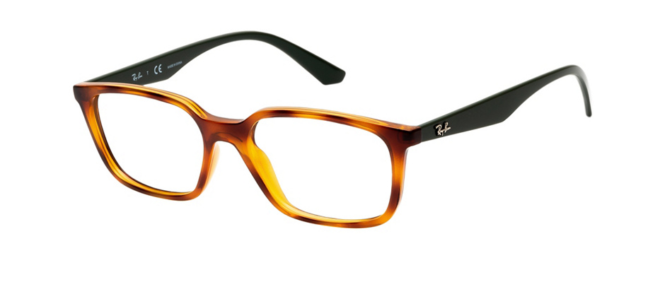 product image of Ray-Ban RX7176-52 Yellow Light Havana