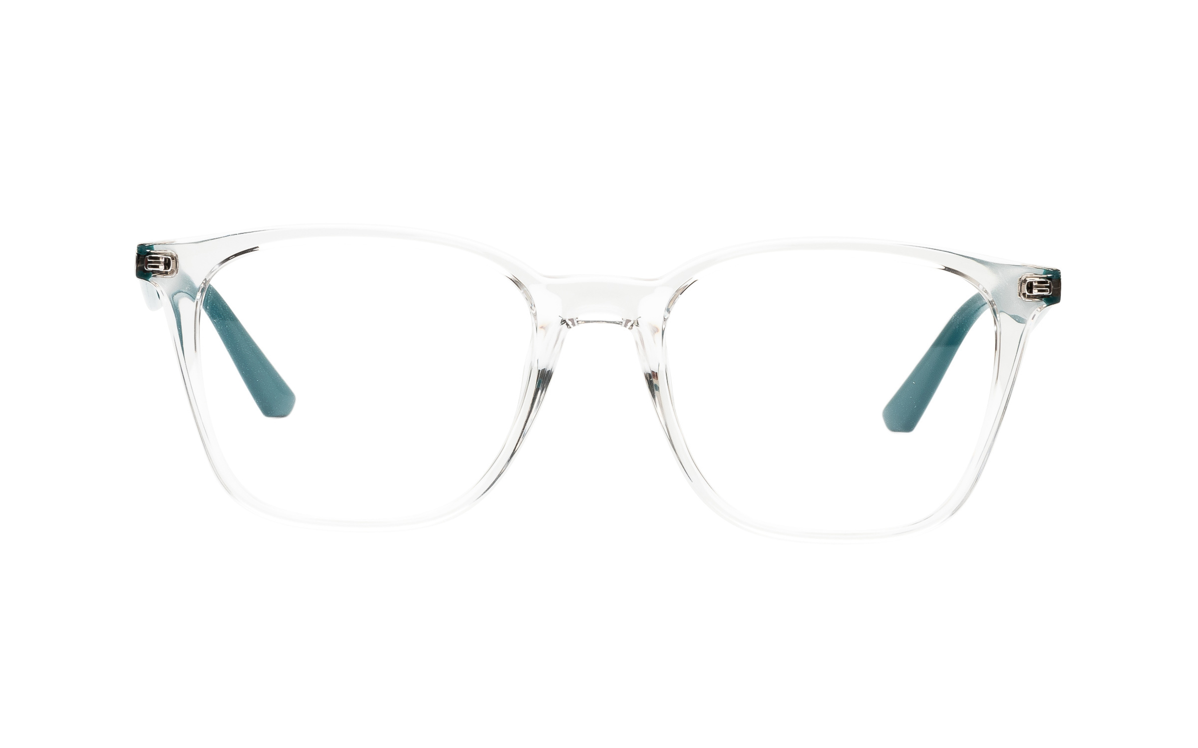Luxottica Ray-Ban RX7177F 5994 (51) Eyeglasses and Frame in Clear - Online Coastal