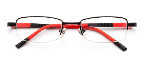 product image of Reebok R1003-50 Matte Black Red