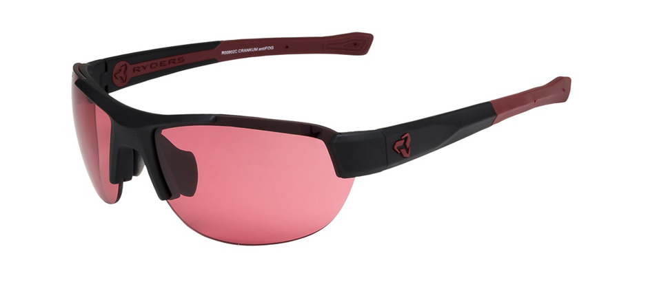 product image of Ryders Crankum Black Red Anti-fog Rose