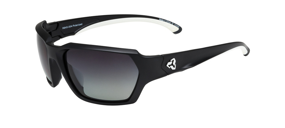 product image of Ryders Face Matte Black Polarized Grey