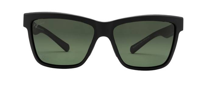 product image of Ryders Norvan Matte Black Polarized Green