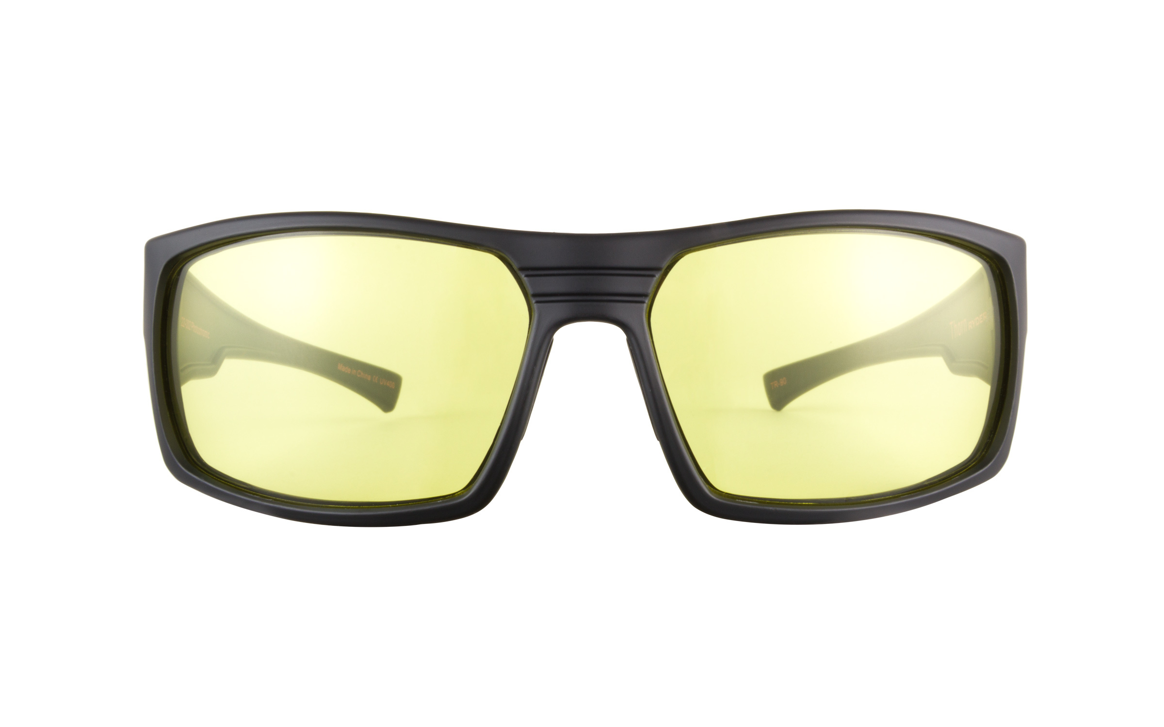 Ryders Thorn R922 002 Black Anti-Fog Photochromic Sunglasses