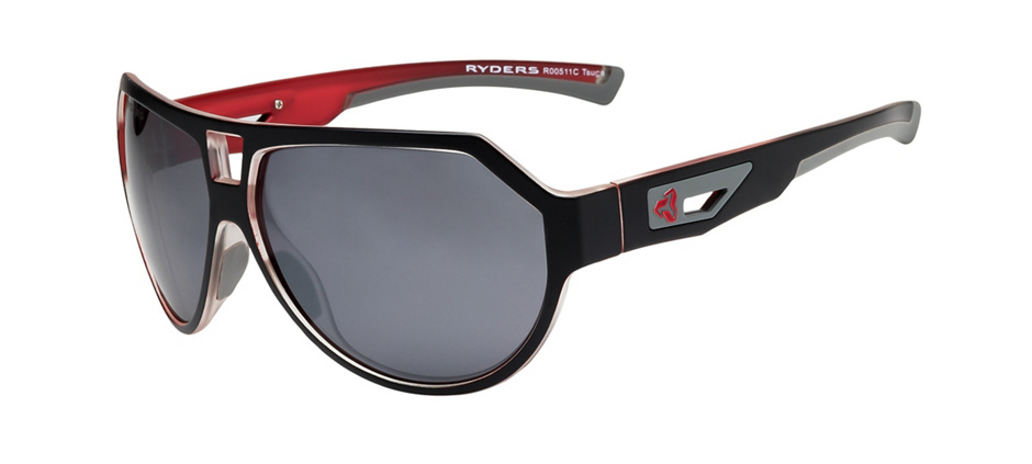 product image of Ryders Tsuga Black Red Grey Crystal Grey Silver Flash