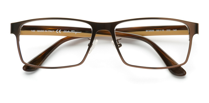 product image of Salvatore Ferragamo SF2506 Matte Brown