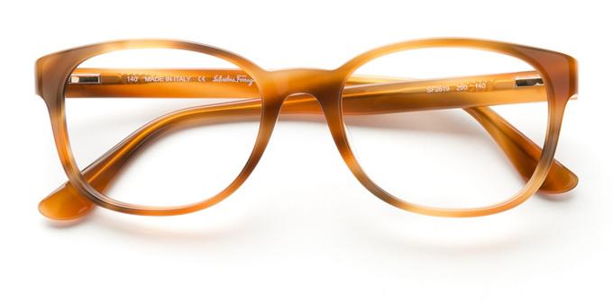 product image of Salvatore Ferragamo SF2619 Brown Horn