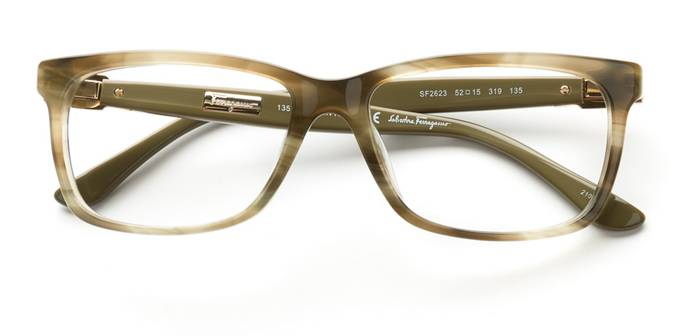 product image of Salvatore Ferragamo SF2623 Striped Khaki