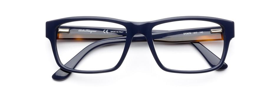 product image of Salvatore Ferragamo SF2676-55 Blue Havana