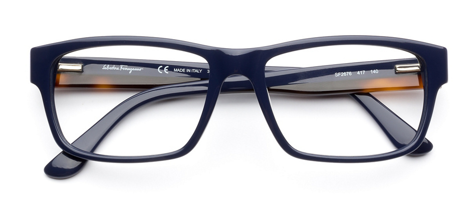 product image of Salvatore Ferragamo SF2676-55 Blue Havana