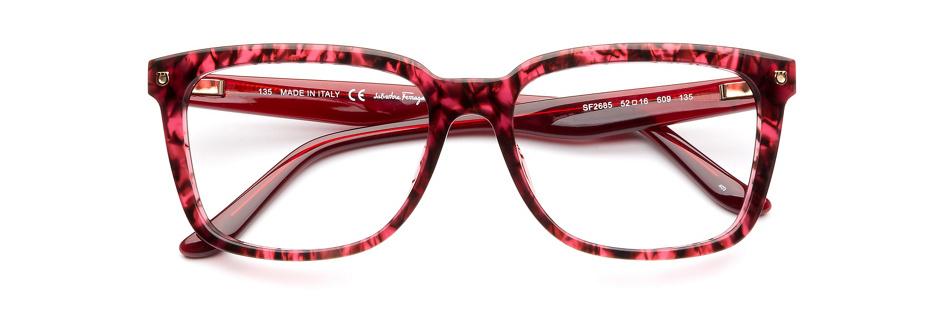 product image of Salvatore Ferragamo SF2685-52 Red Tortoise