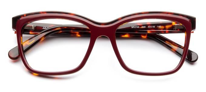 product image of Salvatore Ferragamo SF2749-53 Burgundy Havana