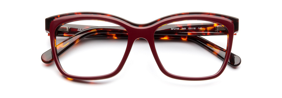 product image of Salvatore Ferragamo SF2749-53 Burgundy Havana