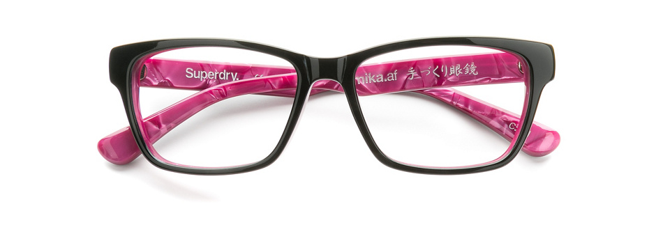 product image of Superdry Mika-53 Black Marble Pink