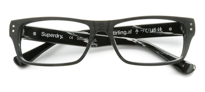 product image of Superdry Stirling-56 Black Wood Effect