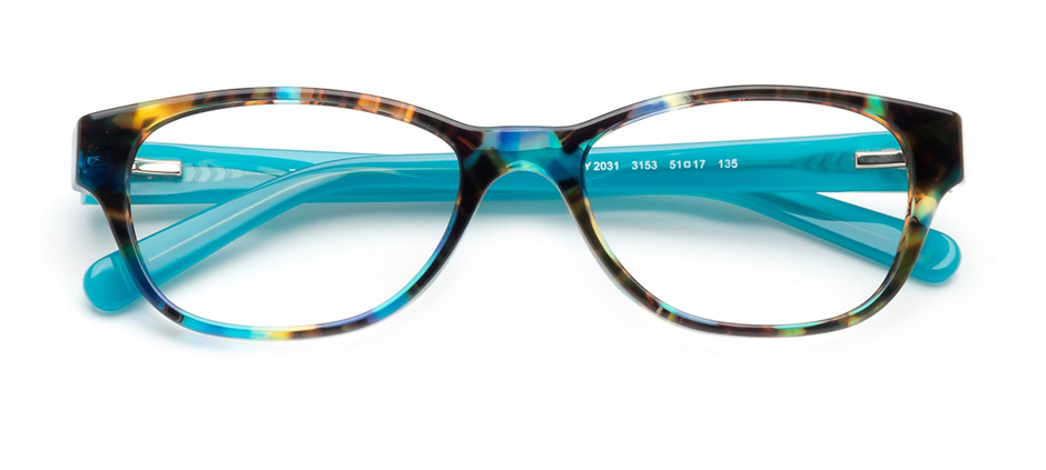 product image of Tory Burch TY2031-51 Blue Brown Tortoise