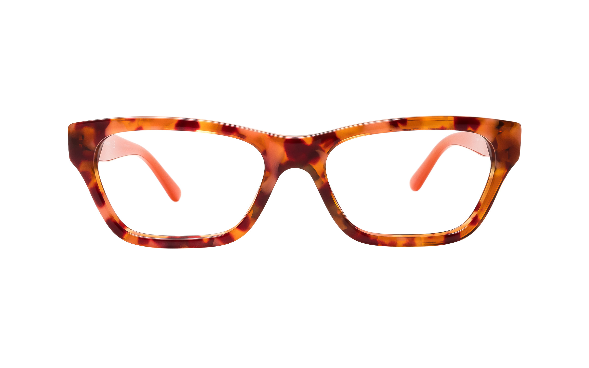 Tory Burch TY2097 1758 (51) Eyeglasses and Frame in Cherry Tortoise/Pink/Red - Online Coastal