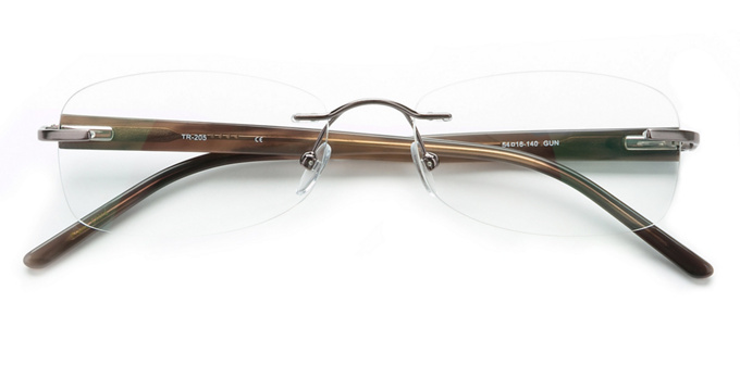 product image of Totally Rimless TR205 Gunmetal