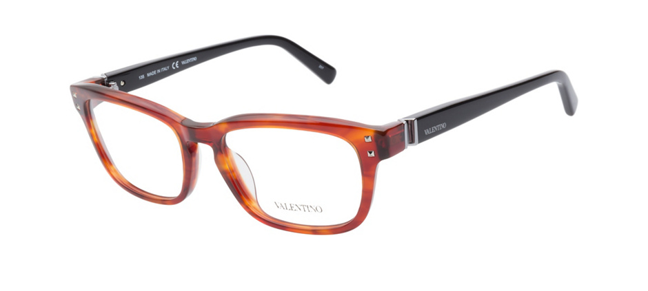 product image of Valentino V2633 Striped Rust