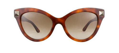 product image of Valentino V657S-53 Blonde Havana