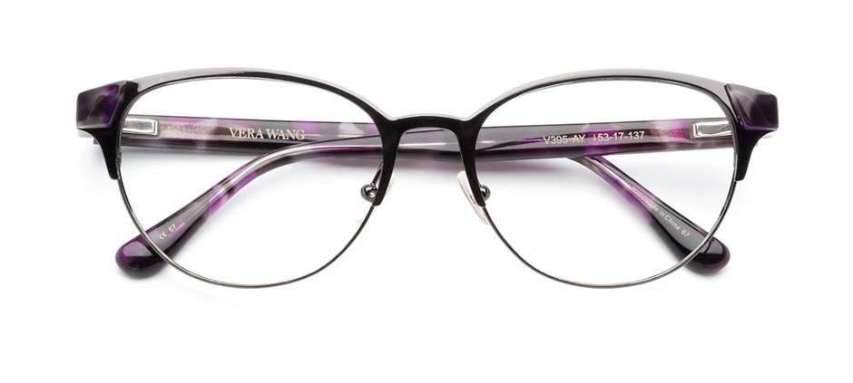 product image of Vera Wang V395-53 Amethyst Tortoise