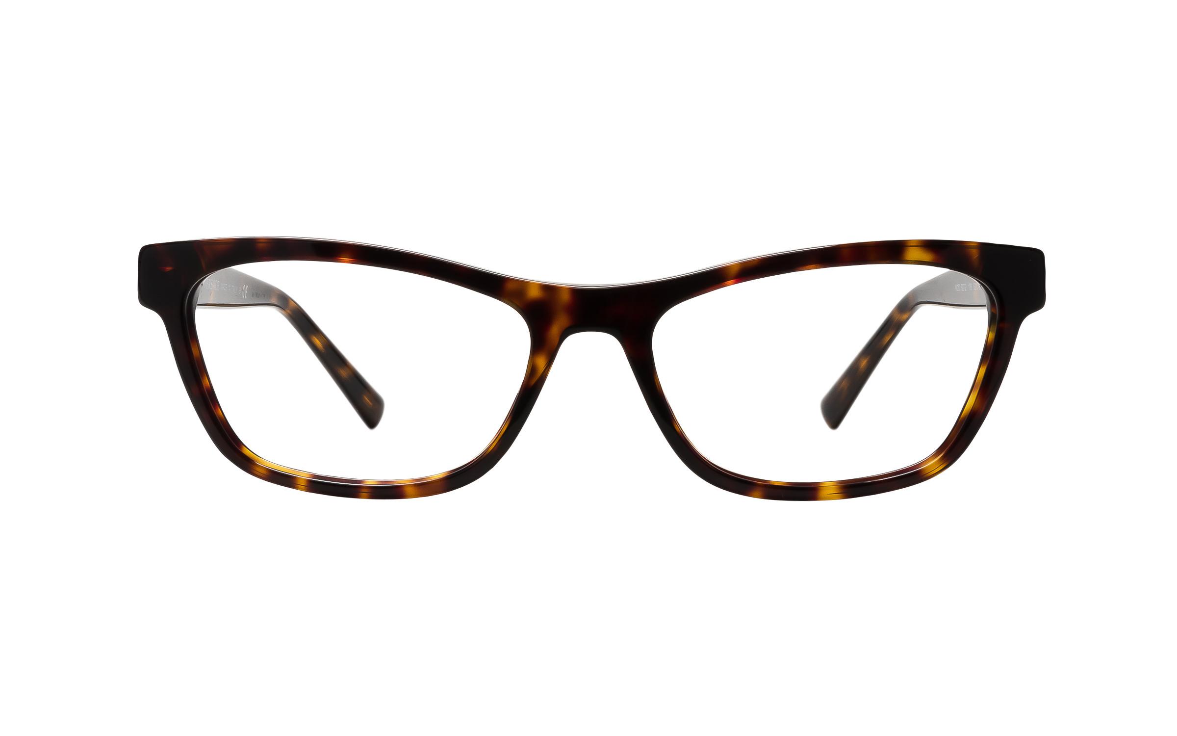 Luxottica Versace VE3272 108 (52) Eyeglasses and Frame in Brown/Tortoise | Metal - Online