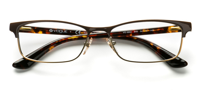product image of Vogue VO3862 Brown Havana Gold