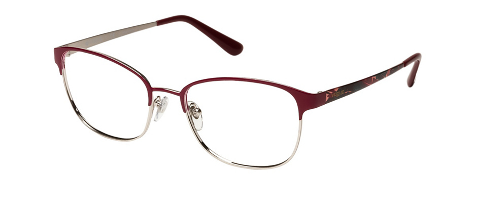 product image of Vogue VO4072-54 Dark Red Silver
