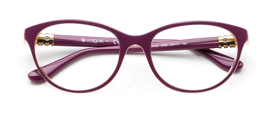 product image of Vogue VO5153-53 Top Dark Violet Yellow