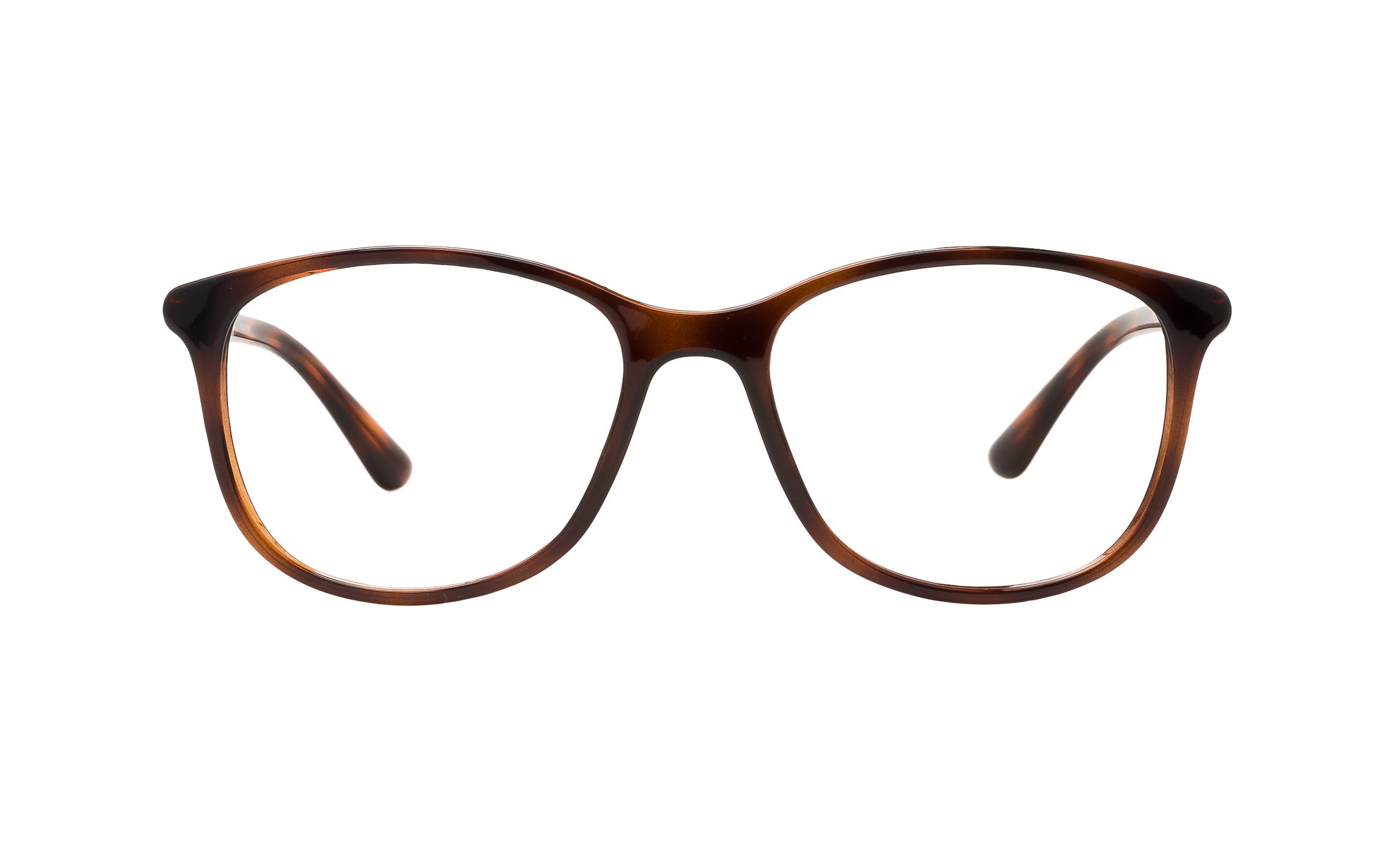 Vogue VO5168 2386 BR (52) Eyeglasses and Frame in Top Dark Havana Light Brown/Tortoise | Metal