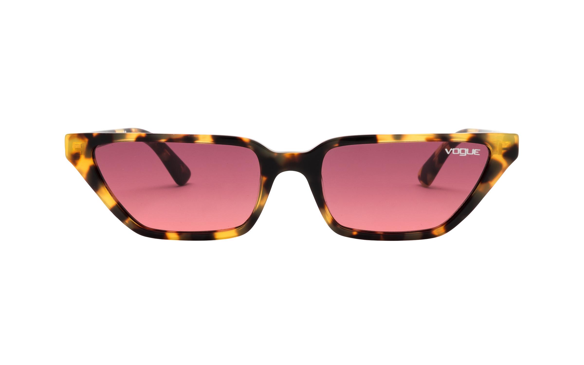 http://www.coastal.com/ - Luxottica Vogue VO5235-S 2605/20 53 Sunglasses in Brown Yellow Yellow/Tortoise – Online Coastal
