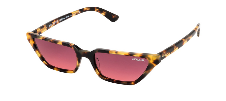 product image of Vogue VO5235-S-53 Brown Yellow Tortoise