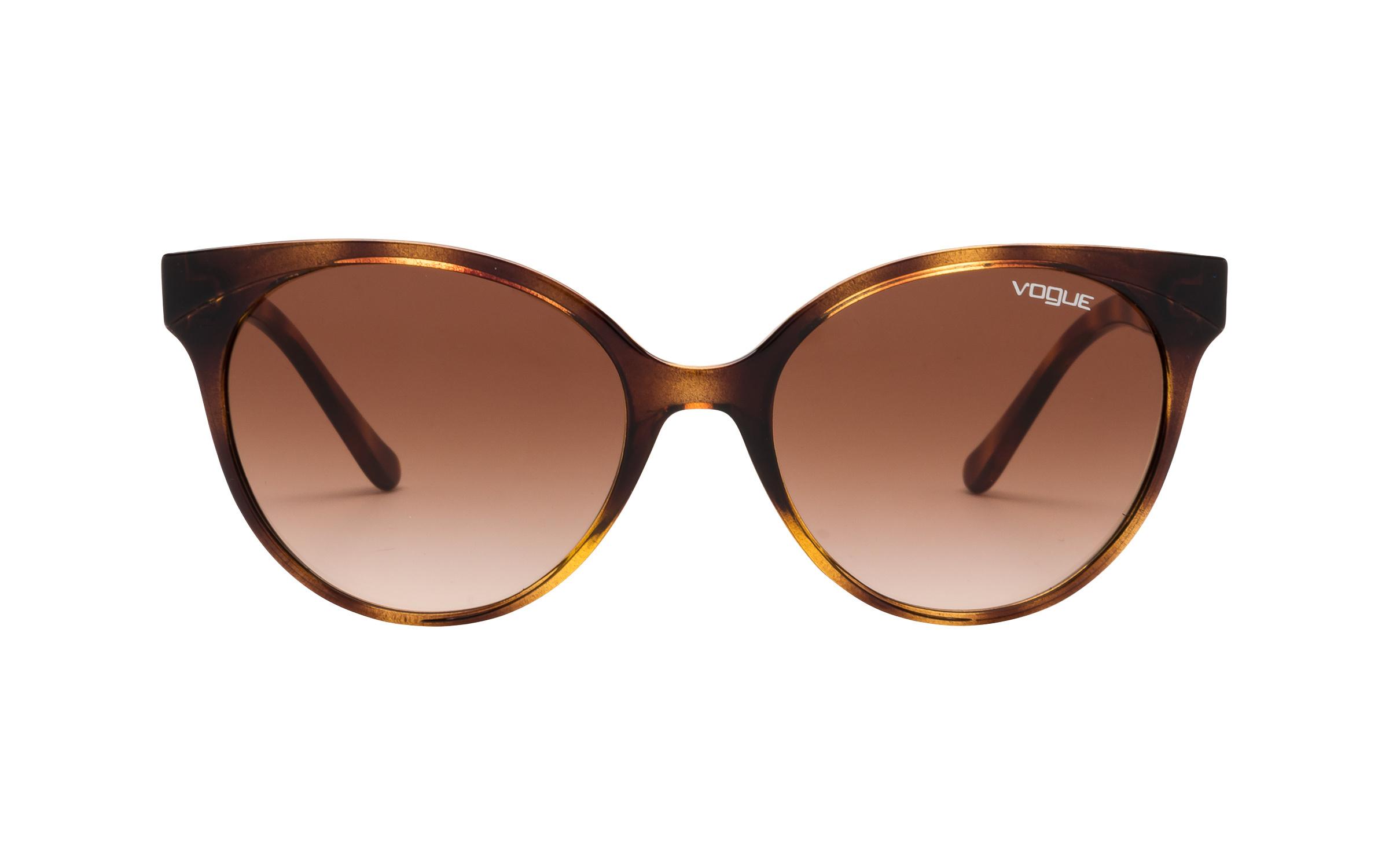 http://www.coastal.com/ - Luxottica Vogue VO5246-S W65613 53 Sunglasses in Dark Havana Tortoise | Acetate – Online Coastal