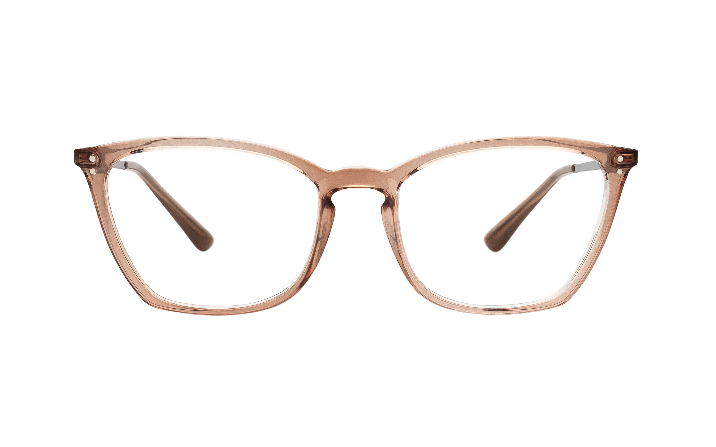 coastal.com - Vogue VO5277 75746 (51) Eyeglasses and Frame in Crystal Brown | Acetate/Metal – Online Coastal 136.00 USD