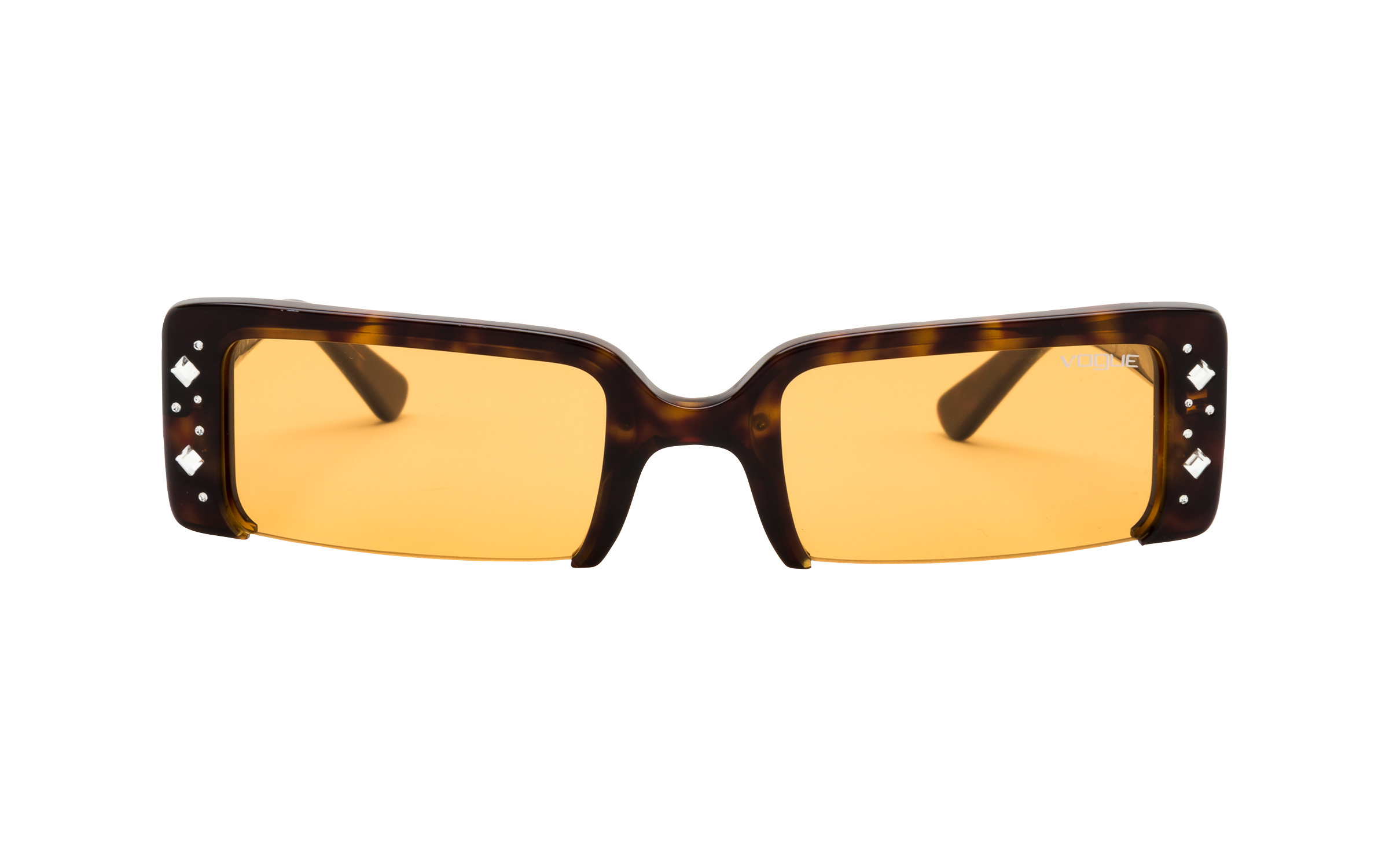 http://www.coastal.com/ - Luxottica Vogue VO5280-SB W656/7 57 Sunglasses in Dark Havana Tortoise – Online Coastal