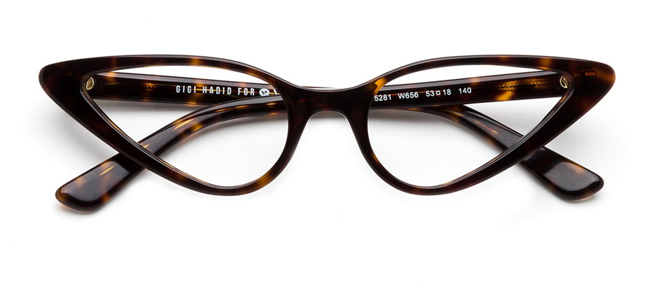 product image of Vogue VO5281-53 Dark Havana
