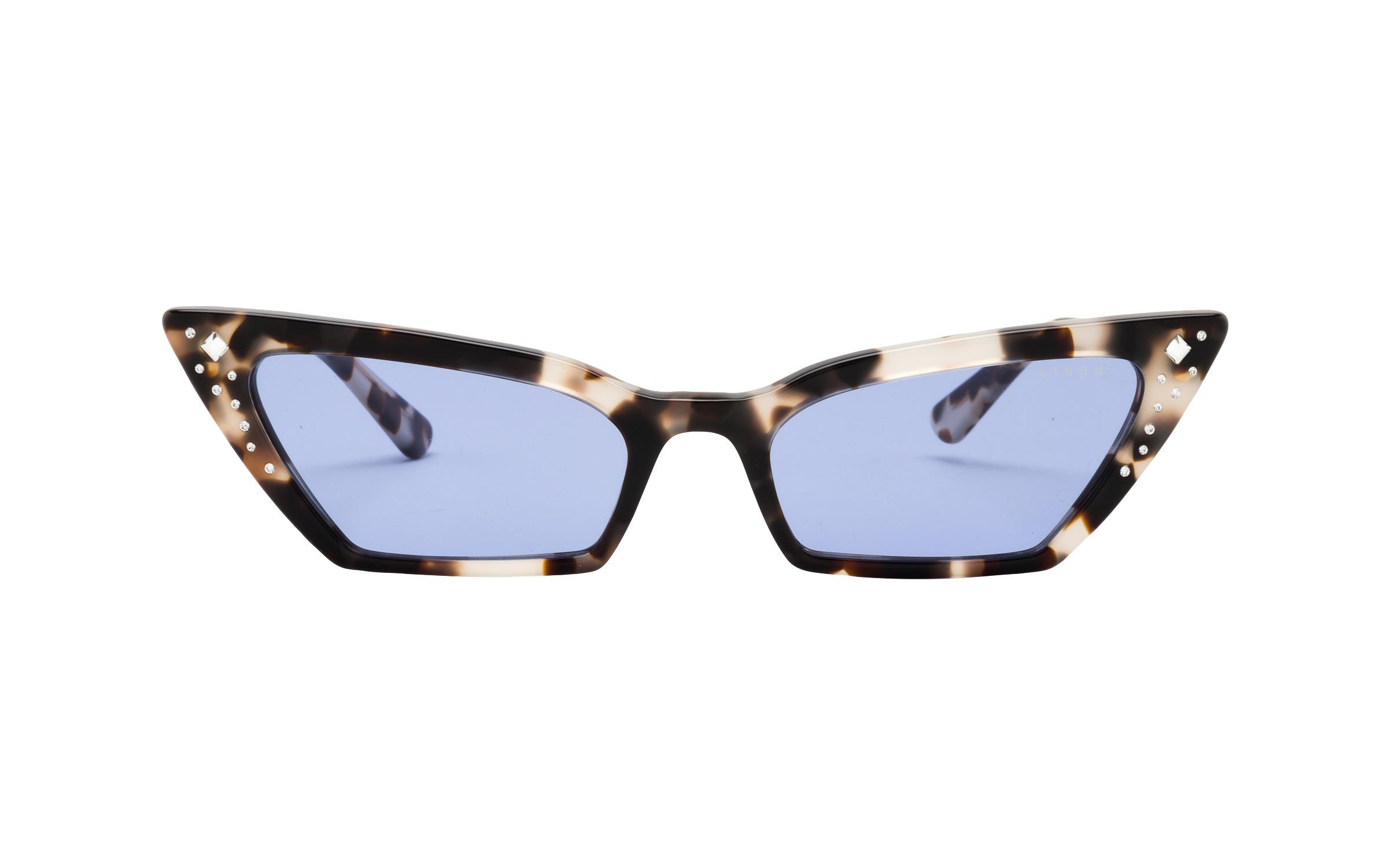 http://www.coastal.com/ - Luxottica Vogue VO5282-SB 272276 54 Sunglasses in Brown Grey Havana White/Tortoise – Online Coastal