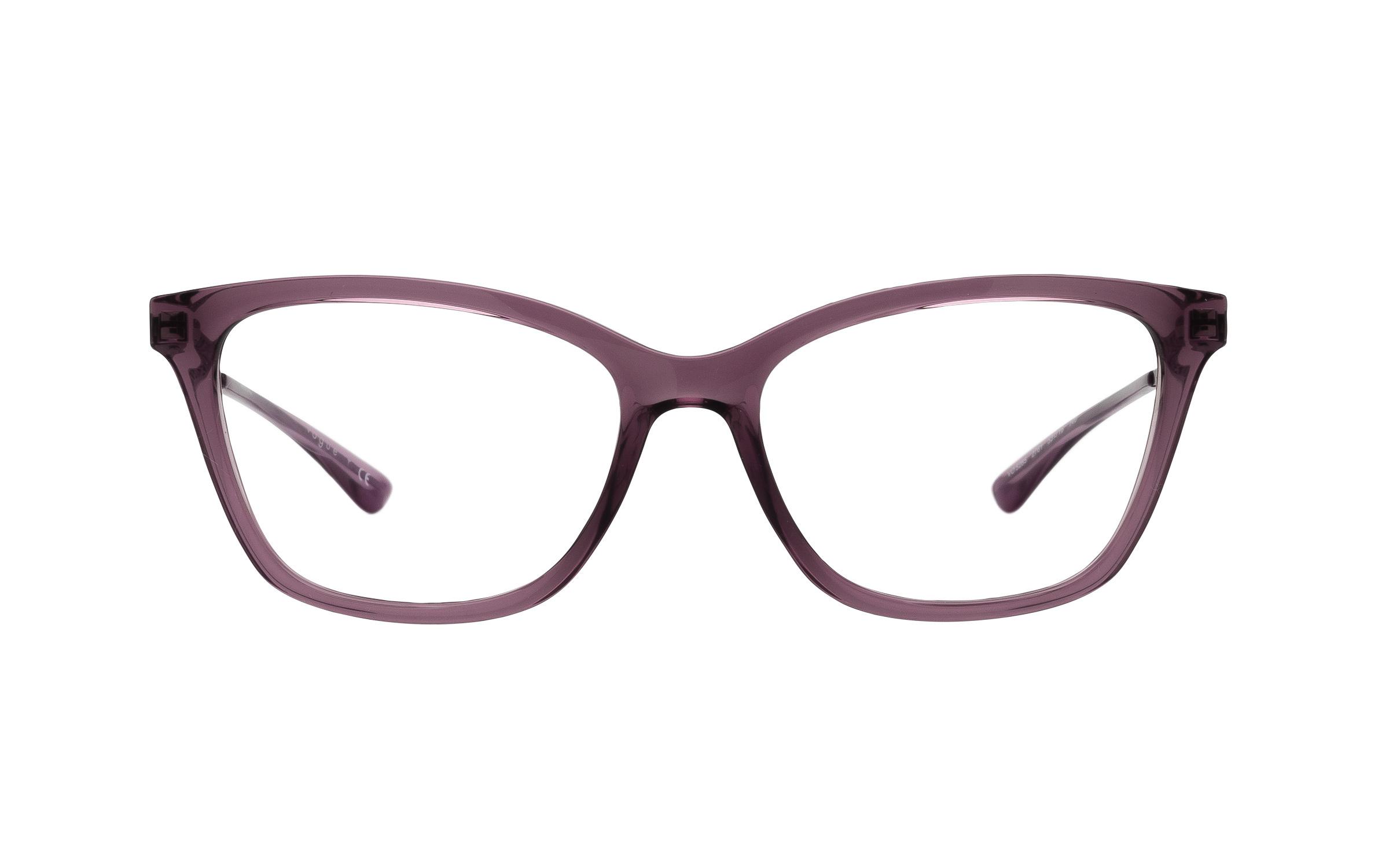 coastal.com - Vogue VO5285 2761 (53) Eyeglasses and Frame in Transparent Violet Purple | Acetate – Online Coastal 98.00 USD