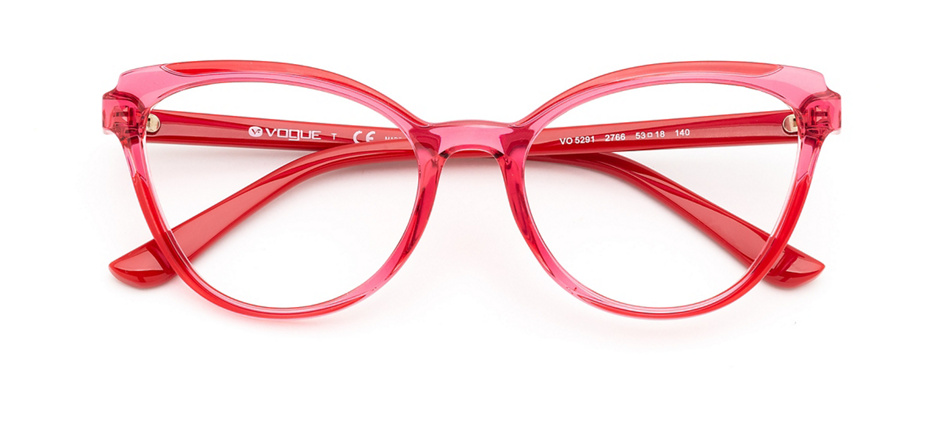 product image of Vogue VO5291-53 Transparent Red