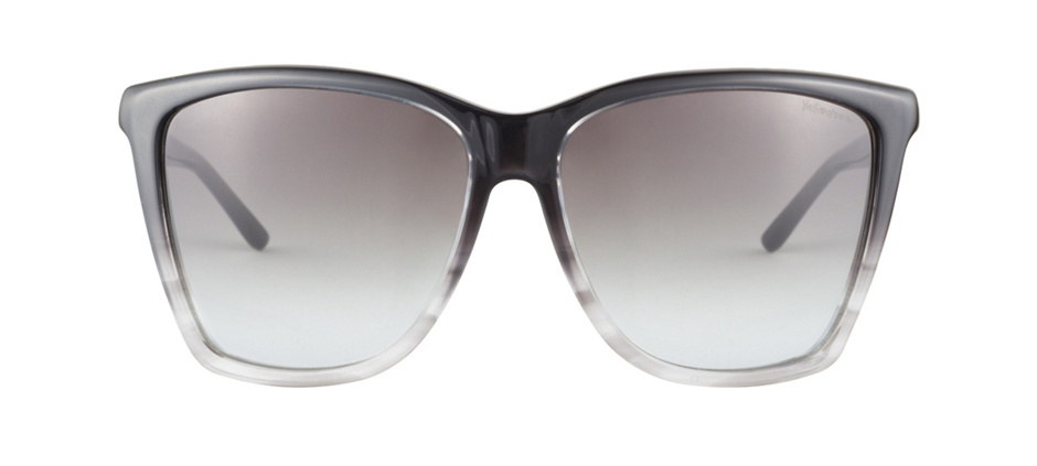 product image of Yves Saint Laurent YSL6347S-58 Black Grey Striped