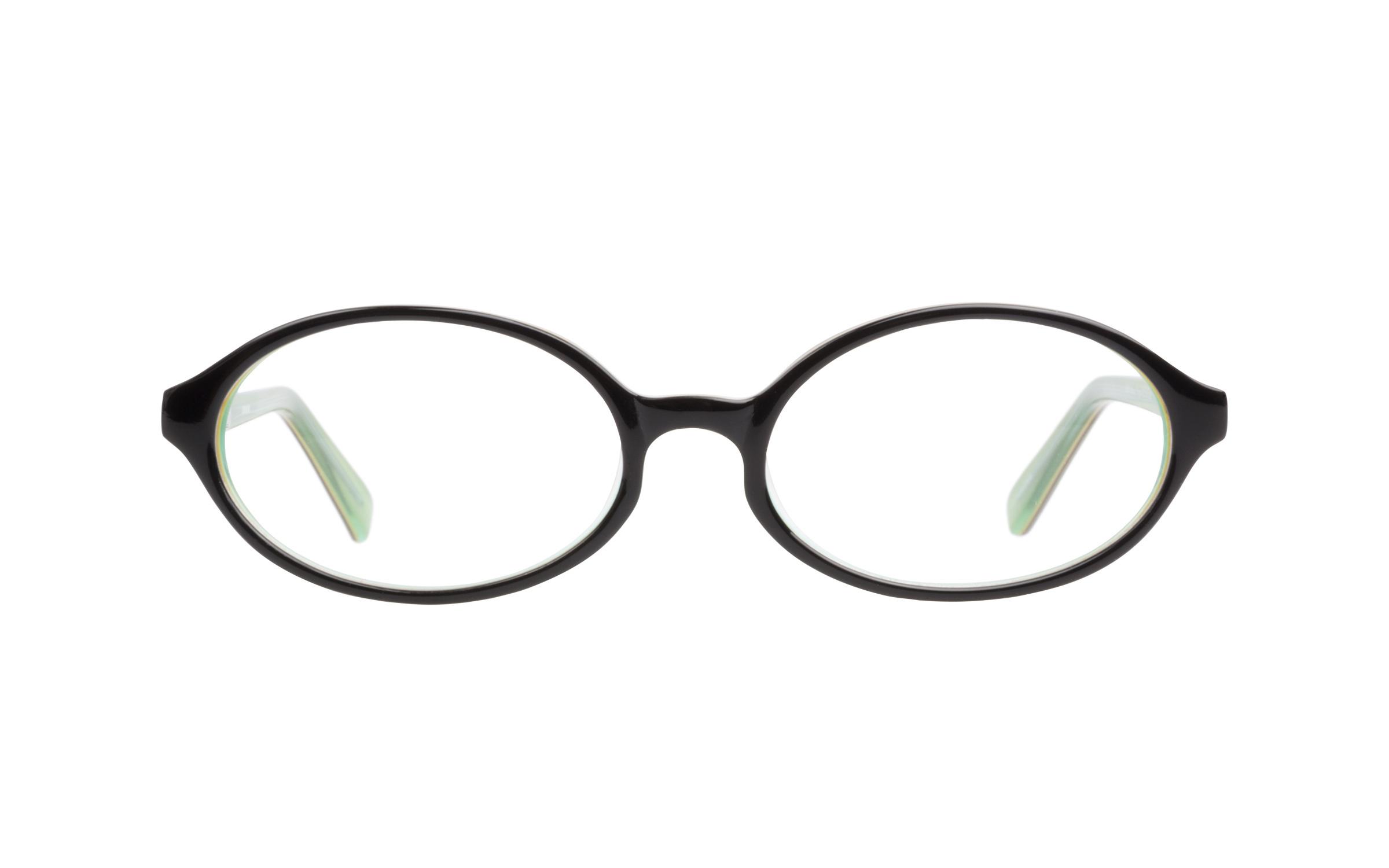 Zooventure 8008 Black Frog Glasses, Eyeglasses & Frames -...